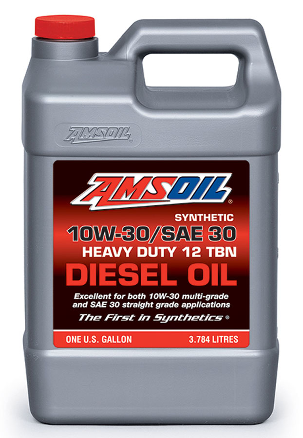 Amsoil synthetic sae 10w 30 sae 30 heavy duty motor oil acd for Motor oil api rating