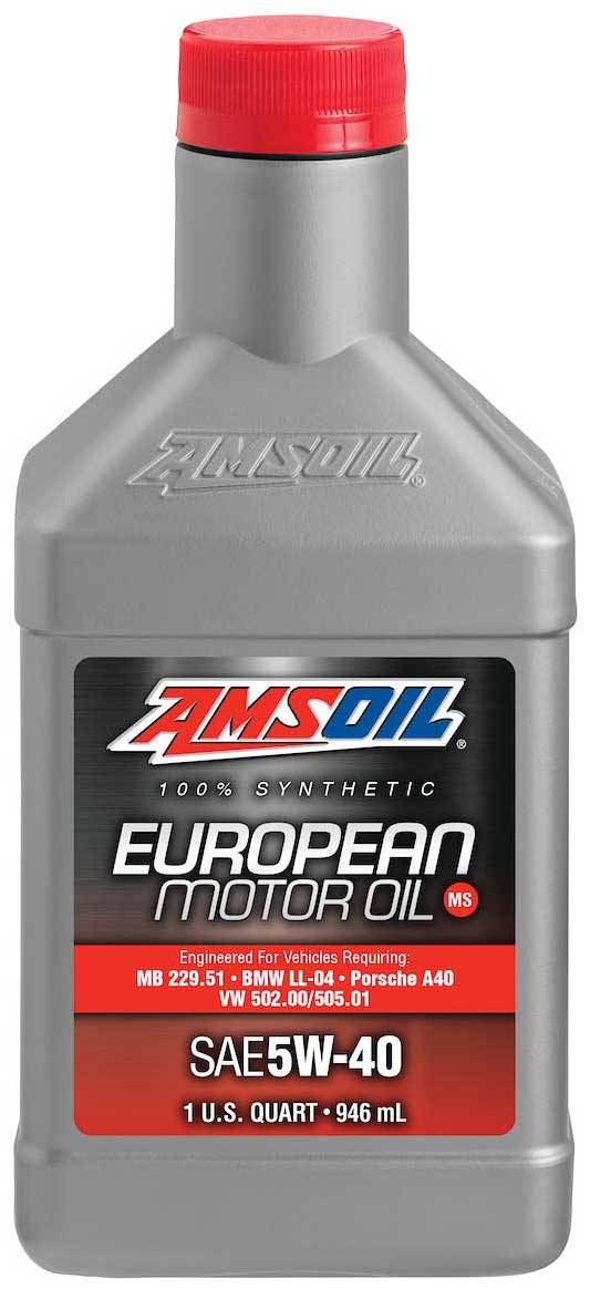 amsoil european car formula 5w 40 improved emissions. Black Bedroom Furniture Sets. Home Design Ideas