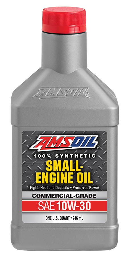 Amsoil formula 4 stroke 10w 30 sae 30 synthetic small for How to change to synthetic motor oil