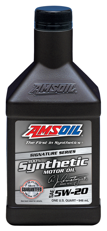 Amsoil sae 5w 20 signature series 100 synthetic motor oil for Amsoil 5w30 signature series 100 synthetic motor oil