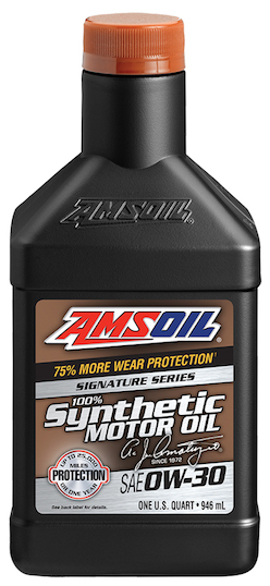 Amsoil 0w 30 signature series azo 100 synthetic 0w30 for Amsoil signature series synthetic motor oil